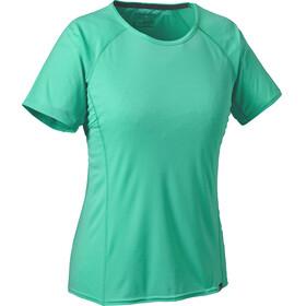 Patagonia Capilene Lightweight Bluzka z krótkim rękawem Kobiety zielony